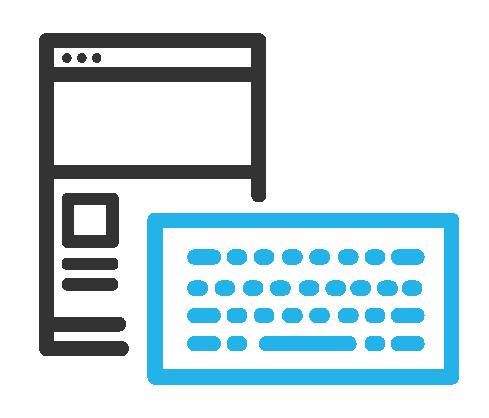 Icono de operable por teclado